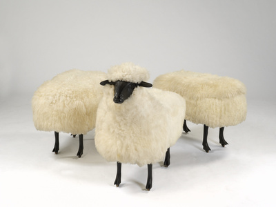 Moutons de Laine (Group of 3)