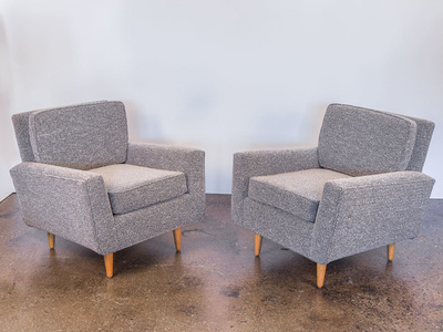 Pair of Model 25 Lounge Chairs