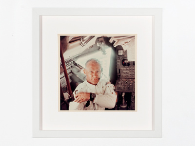"Lunar module pilot Edwin ""Buzz"" Aldrin"