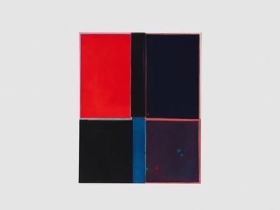 Red/Blue/Purple/Black/Blue Small Bottom