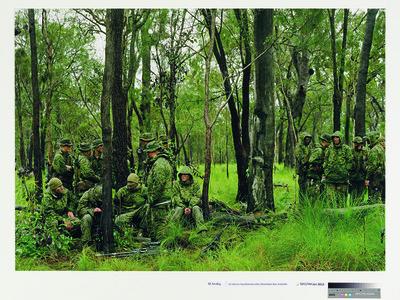 US Marine Expeditionary Unit, Shoalwater Bay, Australia