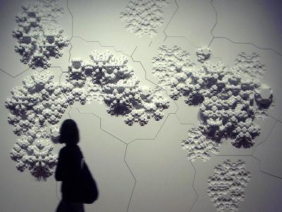 """Rules of Six"" Geometric Wall Decoration"