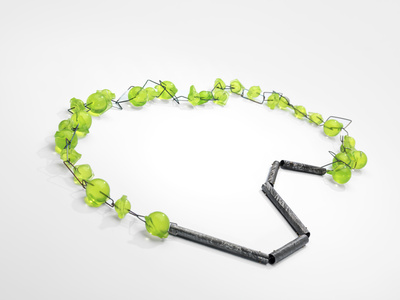 Green Balls, Necklace