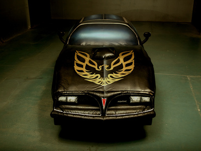 untitled (my 1977 Smokey and The Bandit Trans AM as an inflatable)