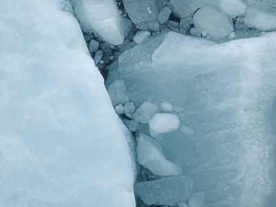 Fractures, North Pole, 3:06 AM, 89 degrees N