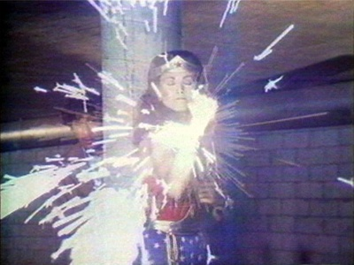 Technology Transformation/Wonder Woman (video still)