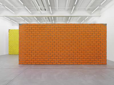 UGO RONDINONE, Walls + Windows + Doors