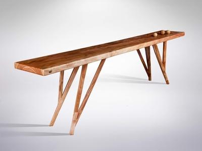 African Mahogany Sideboard