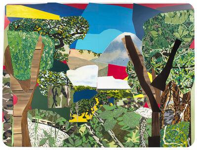 Mickalene Thomas, 'Landscape with Camouflage', 2012
