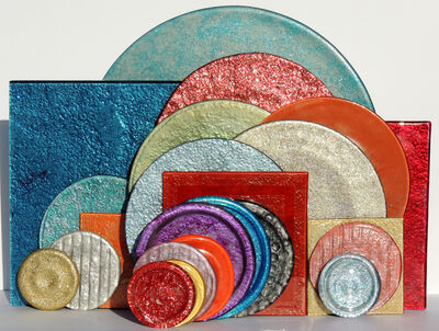 Janine Altman, 'Circles and Squares', 2014