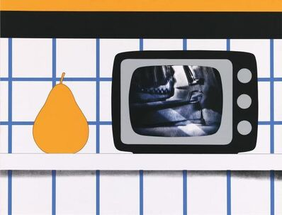 Tom Wesselmann, 'TV Still Life', 1965