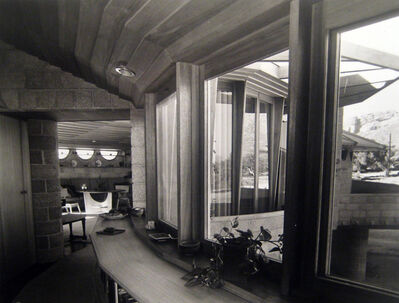 Pedro E. Guerrero, 'David Wright House, Interior, Phoenix, AZ', 1952