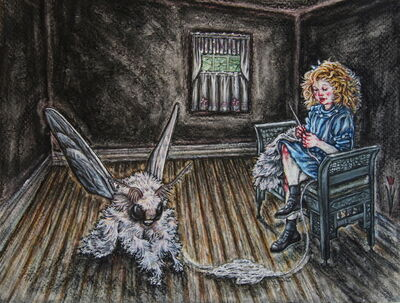 Tammy Salzl, 'The Knitter'