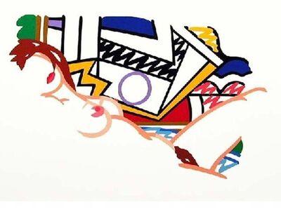 Tom Wesselmann, 'Monica Nude with Lichtenstein', 2002