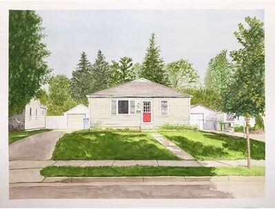 Joshua Huyser, 'Landscape with Red Door', 2018