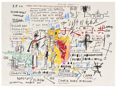 Jean-Michel Basquiat, 'Boxer Rebellion (1982-83/2018)', 2018