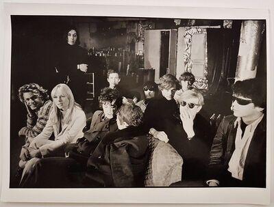 Nat Finkelstein, 'Velvet Underground and Andy Warhol', 1989
