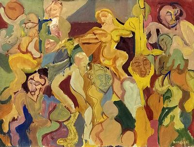 Ted Diamond, 'Untitled (Multiple Figures on the Ward)', 1982