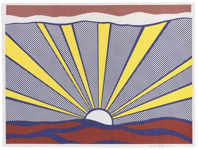 Roy Lichtenstein, 'Sunrise Corlett II.7', 1965