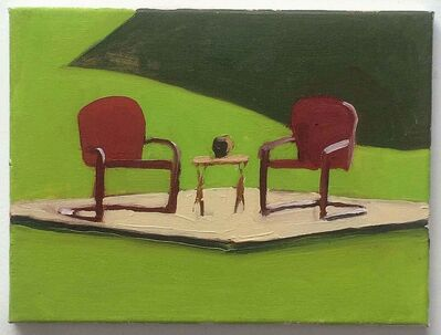 Peter Ligon, 'Two Red Chairs ', 2017