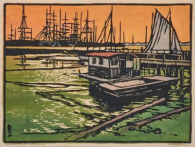 William S. Rice, 'Salmon Fleet - Oakland, California'