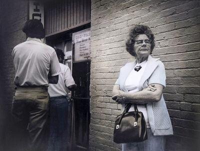 Leslie Hanes, 'Woman Waiting'
