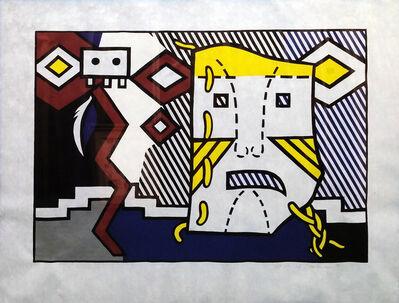 Roy Lichtenstein, 'AMERICAN INDIAN THEME V', 1980