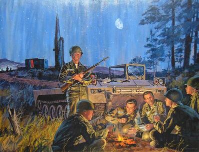 Mead Schaeffer, 'U.S. Army Encampment'