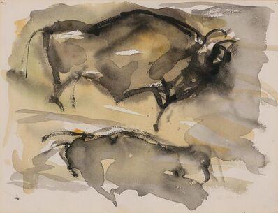 Elaine de Kooning, 'Cave Study (Perigord Region)', 1983