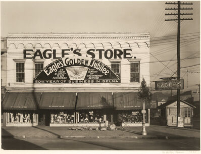 Walker Evans, 'Eagle's Store, Selma, Alabama', 1935