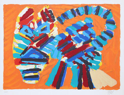 Karel Appel, 'Sunshine Cat from the Cats Portfolio', 1978