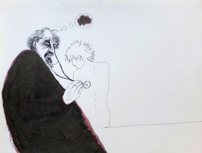 Mindy Alper, 'Untitled (stethoscope)', n.d.