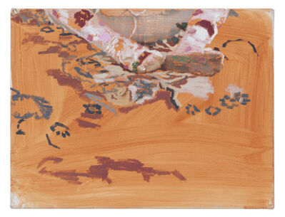 Fatma Shanan, 'A Floral Stocking', 2017