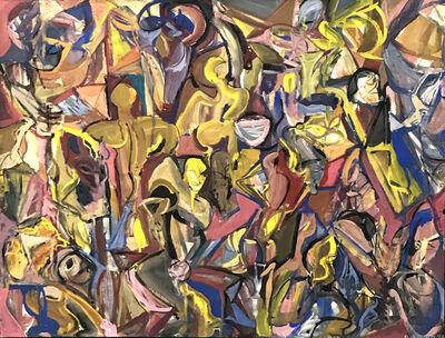 Ted Diamond, 'Untitled (Multiple Figures Overall Best)', 1984