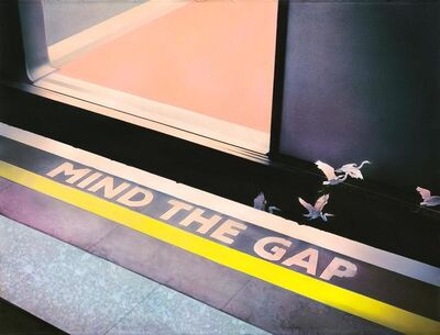 Dima Rebus, 'Mind the Gap', 2019