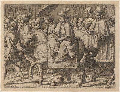 Raffaello Schiaminossi, 'Margaret of Austria on Horseback', 1612