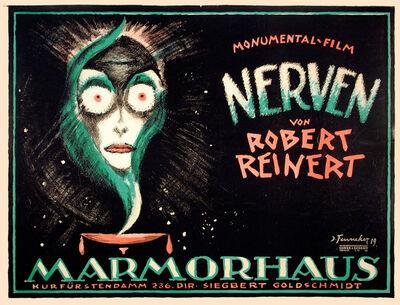 Josef Fenneker, 'Nerven - Nervous - Marmorhaus Theater', 1919