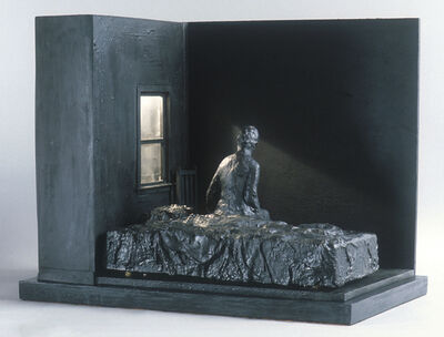 George Segal, 'Woman Sitting on Bed', 1996
