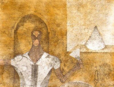 Rufino Tamayo, 'El Ermitaño', 1989
