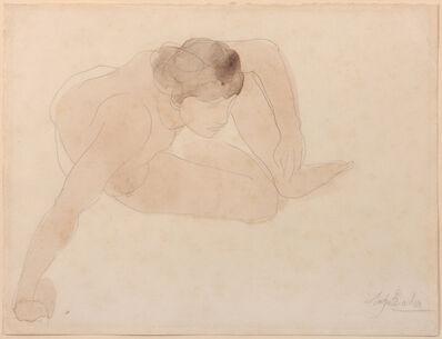 Auguste Rodin, 'Small Crouching Figure', 1896-1899