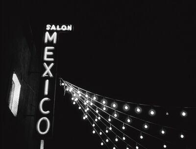 Gabriel Figueroa, 'Sequence of film frames from Salón México', 1948