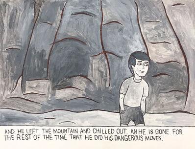 Carlo Daleo, 'The Boy Finishes Climbing Down the Mountain', 2017