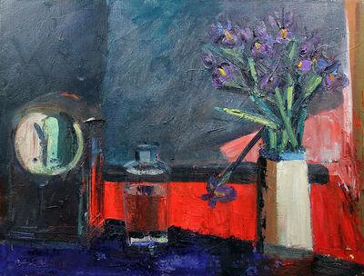 Brian Ballard, 'Bottle and Clock'