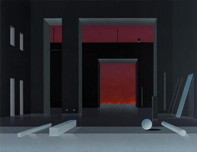 Ben Willikens, 'Raum 1384, Nacht', 2017