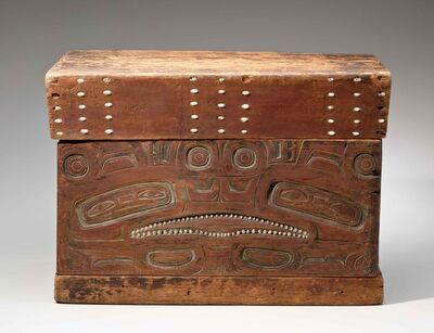 anonymous Tlingit artist, 'Chest; Alaska', ca. 18