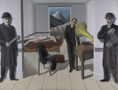 René Magritte, 'The Menaced Assassin (L'Assassin menacé)', 1927