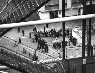André Kertész, 'Beauborg, Paris', 1977