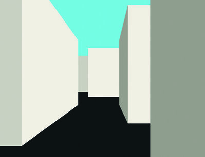 Julian Opie, 'Imagine You Are Walking', 1998-1999
