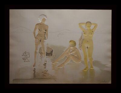 Salvador Dalí, 'Three Graces of Cova d'Or (Woman's Face)', 1975