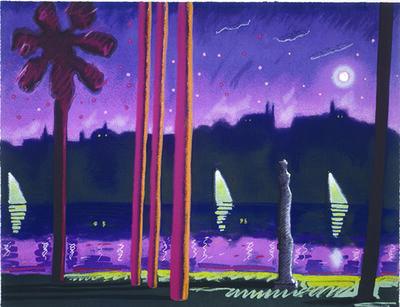 Carlos Almaraz, 'Sauve Como La Noche', 1985